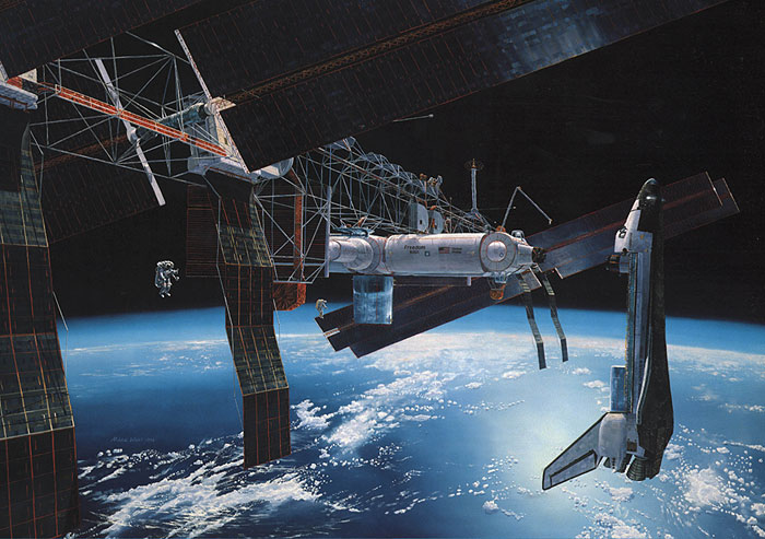 Futuristic Space Station Designs (page 2) - Pics about space